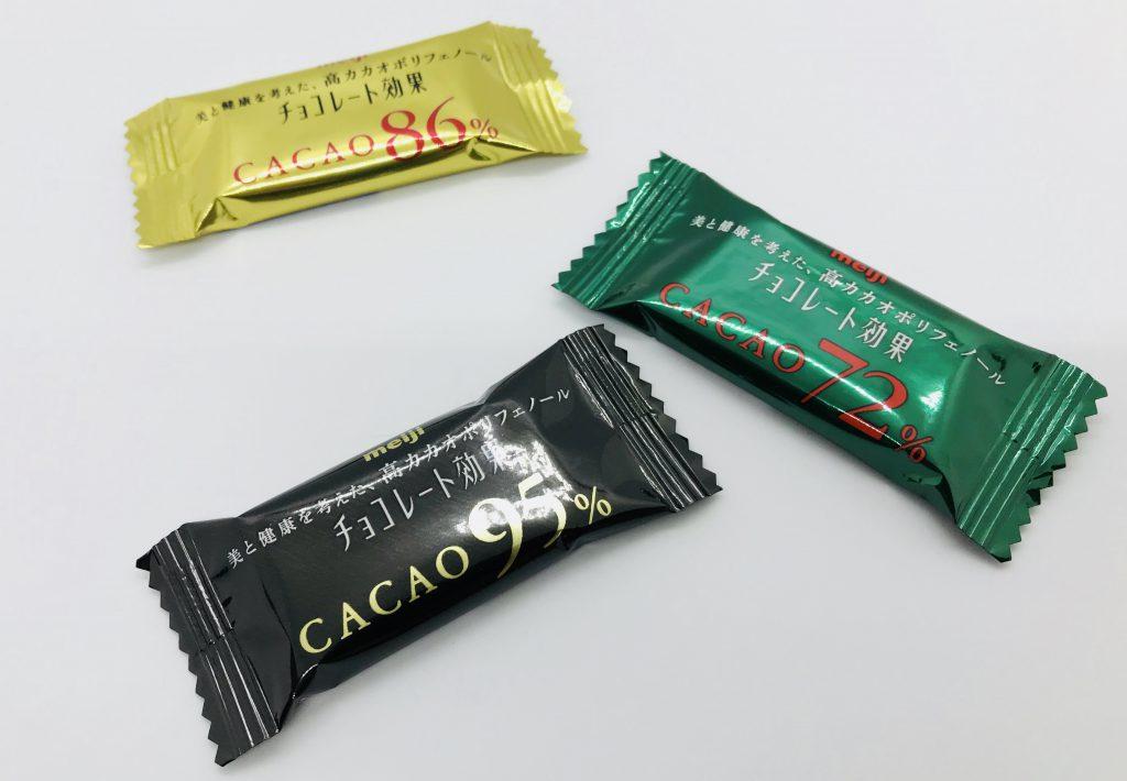チョコレート効果3種