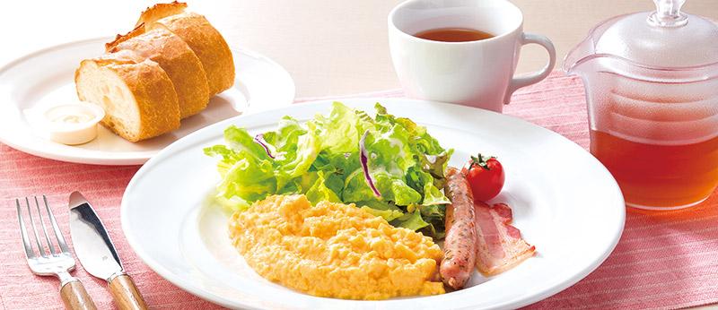 ココス モーニング 和朝食・洋朝食